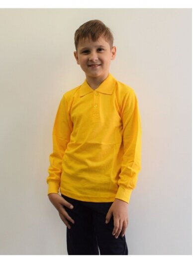 Geltoni polo marškinėliai 3