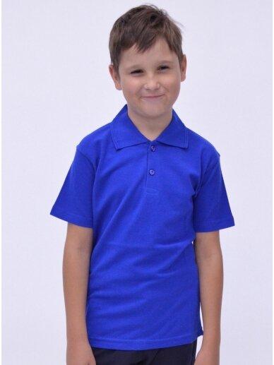 Mėlyni polo marškinėliai 2