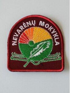 Nevarėnų pagrindinės mokyklos emblema