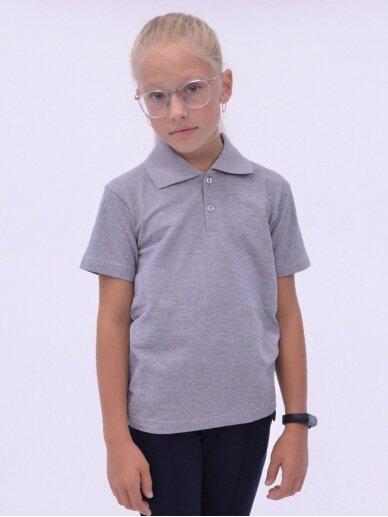Pilki polo marškinėliai 2