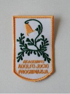 Plungės akademiko Adolfo Jucio progimnazijos emblema
