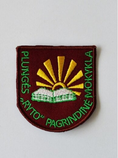 "Plungės ,,Ryto"" pagrindinės mokyklos emblema"