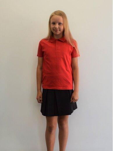 Raudoni polo  marškinėliai 4