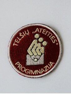 """Telšių """"Ateities"""" progimnazijos emblema"""
