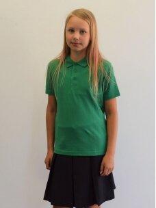 Žali polo marškinėliai
