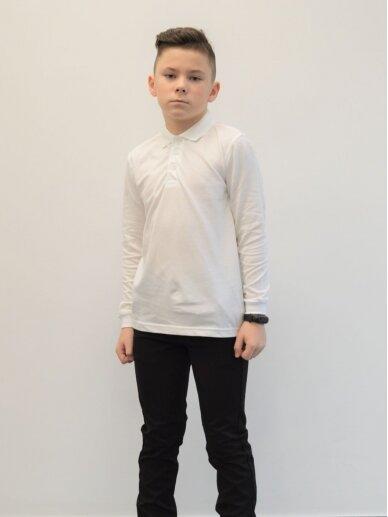 Balti polo marškinėliai 2